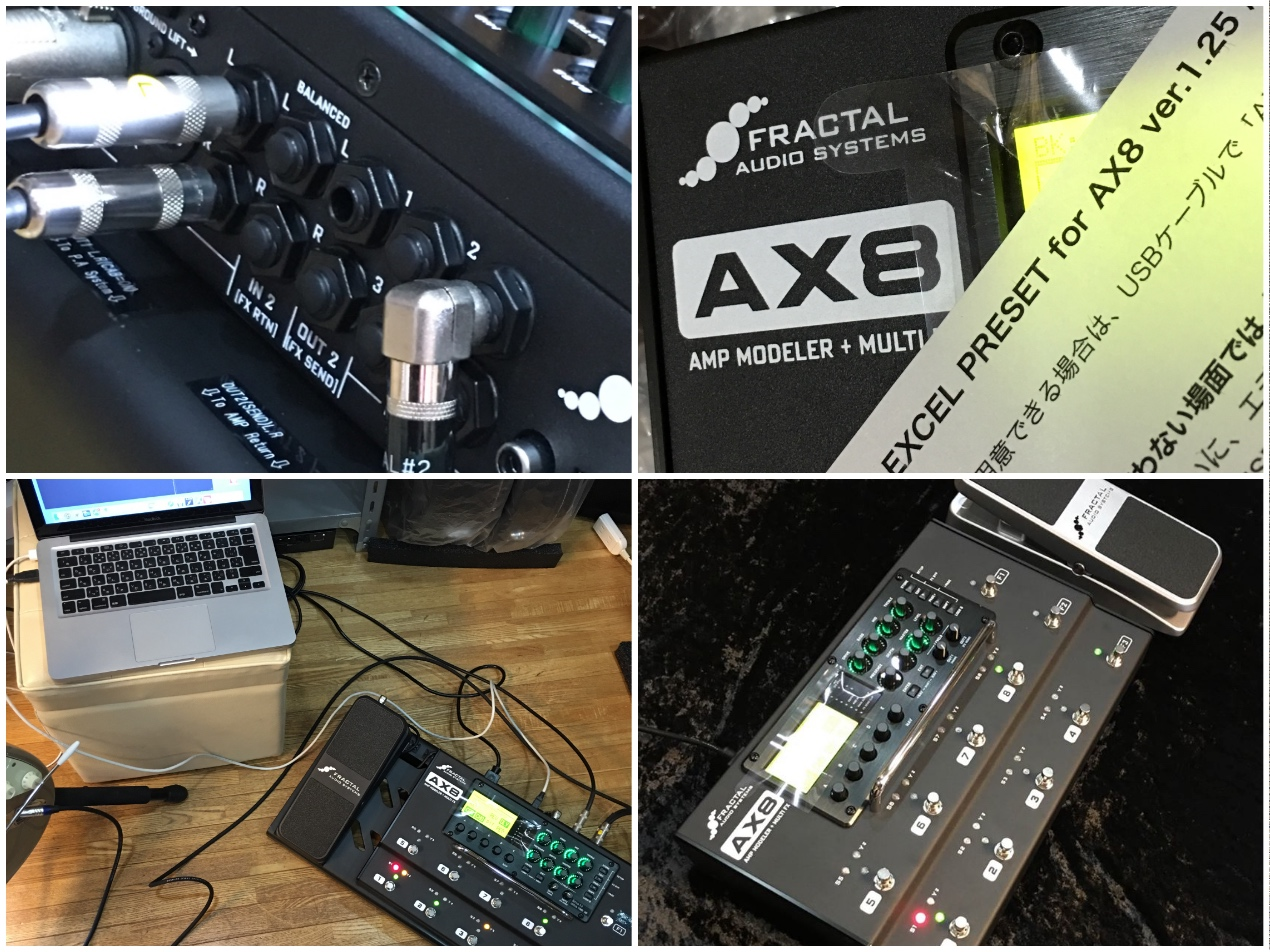 fractal audio systems ax8 excel preset ver excelネットショップ