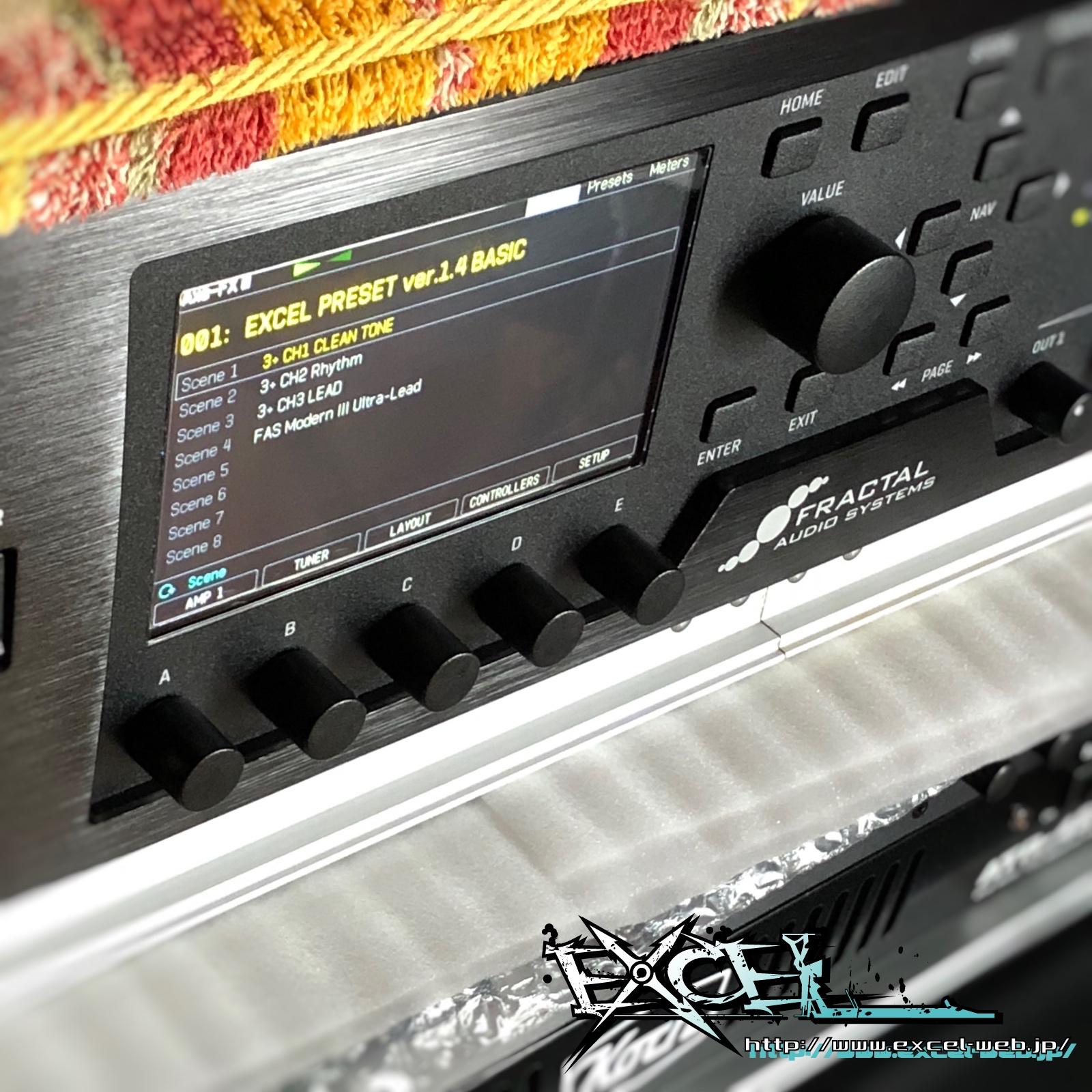 fractal audio systems axe fxiii excel preset ver 1 43 次回入荷分
